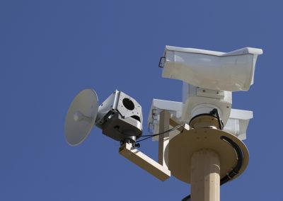 LinkAlign-360RPT Installed on Surveillance Tower