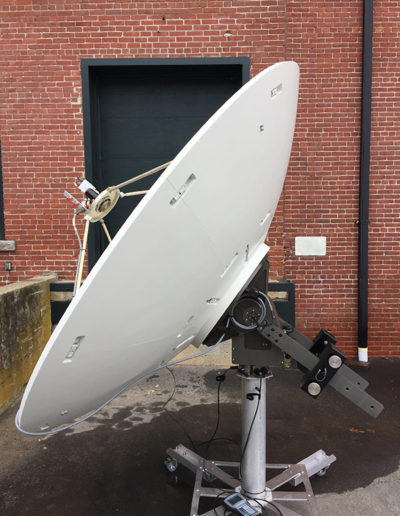 LinkAlign-FER-50 with 8-foot Dish